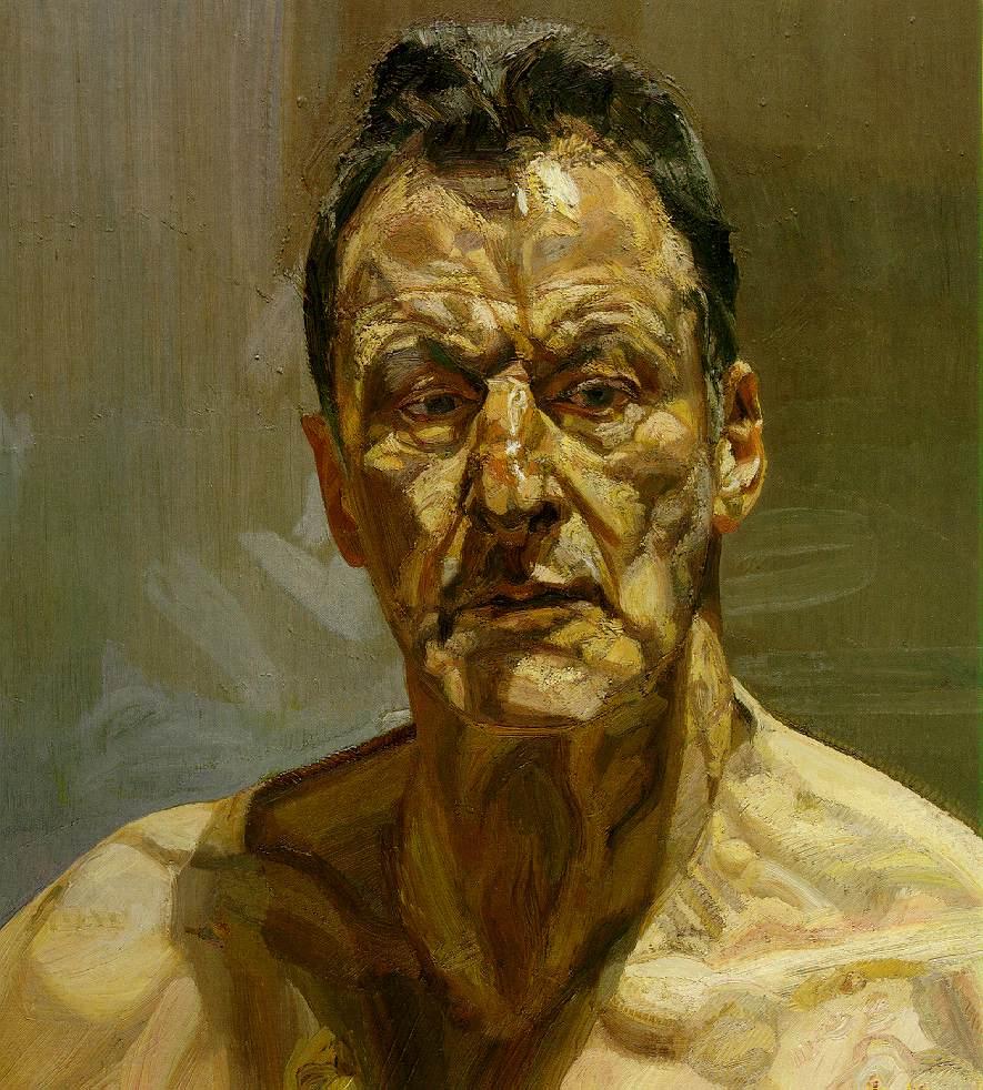Lucian Freud Autorretrato